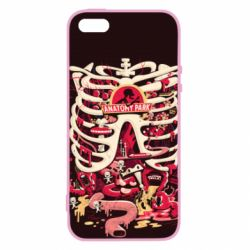 Чохол для iphone 5/5S/SE Anatomy Park - FatLine
