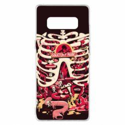 Чохол для Samsung Note 8 Anatomy Park - FatLine