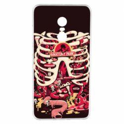 Чохол для Xiaomi Redmi Note 4 Anatomy Park - FatLine