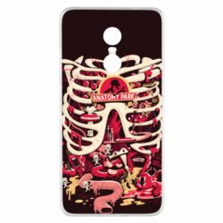 Чохол для Xiaomi Redmi Note 4x Anatomy Park - FatLine