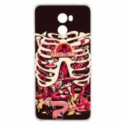 Чохол для Xiaomi Redmi 4 Anatomy Park - FatLine