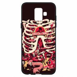 Чохол для Samsung A6 2018 Anatomy Park - FatLine