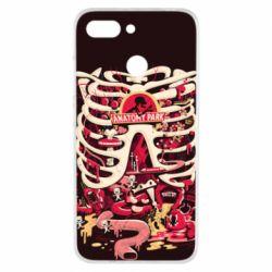 Чохол для Xiaomi Redmi 6 Anatomy Park - FatLine