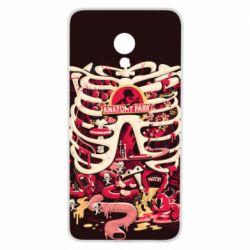 Чохол для Meizu M5 Anatomy Park - FatLine