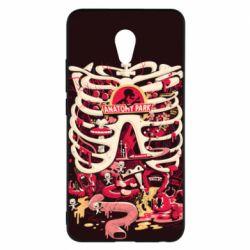 Чохол для Meizu M5 Note Anatomy Park - FatLine