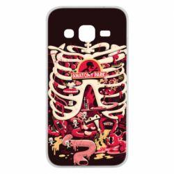 Чохол для Samsung J2 2015 Anatomy Park - FatLine