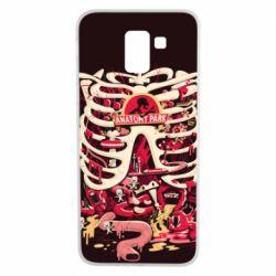 Чохол для Samsung J6 Anatomy Park - FatLine