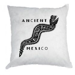 Подушка Ancient Mexico Art - FatLine
