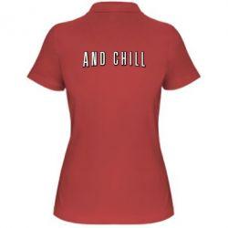 Жіноча футболка поло And Shill