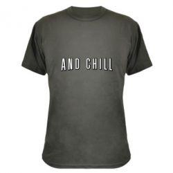 Камуфляжна футболка And Shill