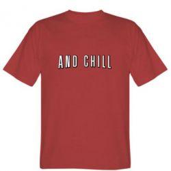 Чоловіча футболка And Shill
