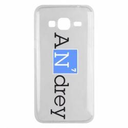 Чехол для Samsung J3 2016 Andrey