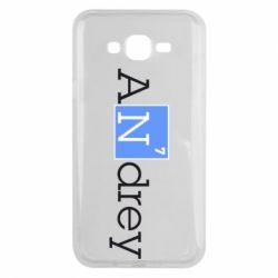 Чехол для Samsung J7 2015 Andrey