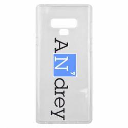 Чехол для Samsung Note 9 Andrey