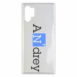 Чехол для Samsung Note 10 Plus Andrey