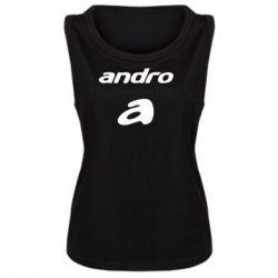 Женская майка Andro
