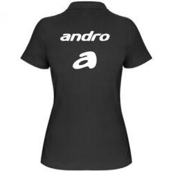 Женская футболка поло Andro