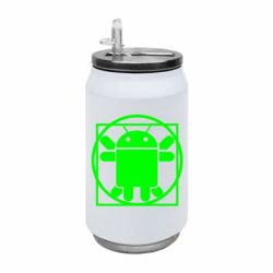 Термобанка 350ml Android Da Vinchi