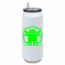 Термобанка 500ml Android Da Vinchi