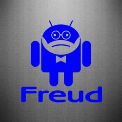 Наклейка Android Freud