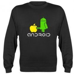 Реглан (свитшот) Android fuck Apple