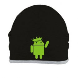 Шапка Android King - FatLine