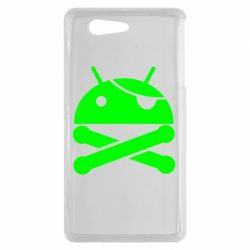 Чехол для Sony Xperia Z3 mini Android Pirate - FatLine