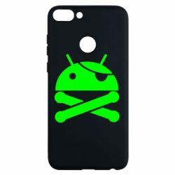 Чехол для Huawei P Smart Android Pirate - FatLine