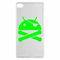 Чехол для Huawei P8 Android Pirate - FatLine