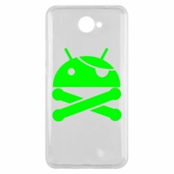 Чехол для Huawei Y7 2017 Android Pirate - FatLine