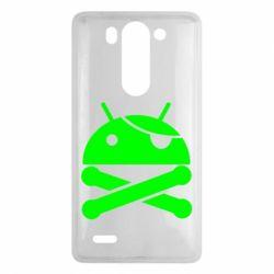 Чехол для LG G3 mini/G3s Android Pirate - FatLine