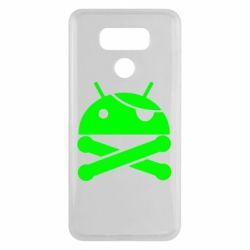 Чехол для LG G6 Android Pirate - FatLine