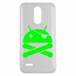 Чехол для LG K7 2017 Android Pirate - FatLine