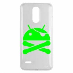 Чехол для LG K8 2017 Android Pirate - FatLine