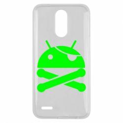 Чехол для LG K10 2017 Android Pirate - FatLine