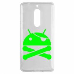 Чехол для Nokia 5 Android Pirate - FatLine