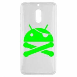 Чехол для Nokia 6 Android Pirate - FatLine