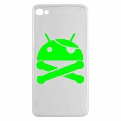 Чехол для Meizu U20 Android Pirate - FatLine