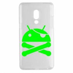 Чехол для Meizu 15 Plus Android Pirate - FatLine