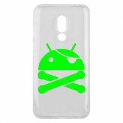Чехол для Meizu 16 Android Pirate - FatLine