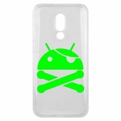 Чехол для Meizu 16x Android Pirate - FatLine