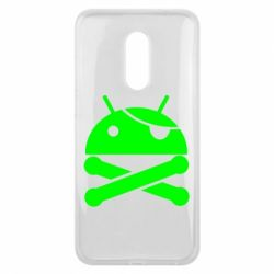Чехол для Meizu 16 plus Android Pirate - FatLine
