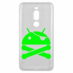 Чехол для Meizu V8 Pro Android Pirate - FatLine