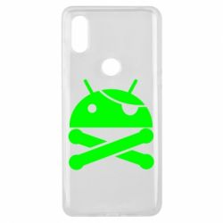 Чехол для Xiaomi Mi Mix 3 Android Pirate - FatLine