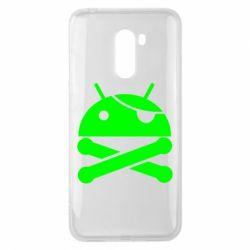 Чехол для Xiaomi Pocophone F1 Android Pirate - FatLine