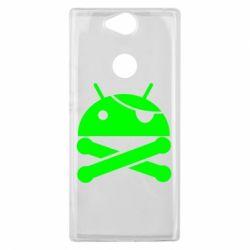 Чехол для Sony Xperia XA2 Plus Android Pirate - FatLine