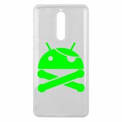 Чехол для Nokia 8 Android Pirate - FatLine