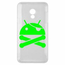Чехол для Meizu 15 Lite Android Pirate - FatLine