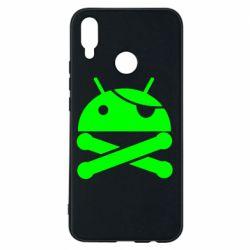 Чехол для Huawei P Smart Plus Android Pirate - FatLine