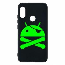 Чехол для Mi A2 Lite Android Pirate - FatLine